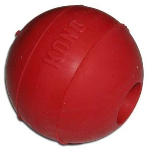 Red Ball Toy : Kong ball dog toy medium large red lot